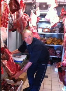 Yves Bruneau, Butcher at Bages, Pauillac