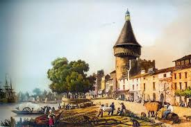 libourne old painting