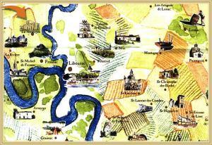 map fronsac st emilion