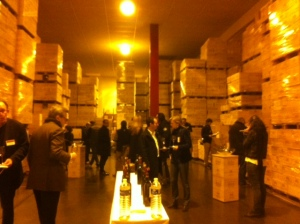 Tasting the 2013s a year after its outing at the primeurs in the chais of Millesima