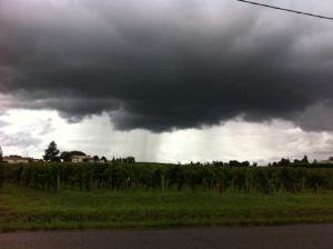 Storm over St Emilio,