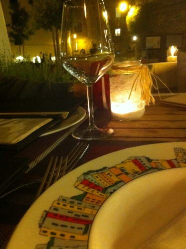 Restaurant Tre Torre: baby squides and octopus
