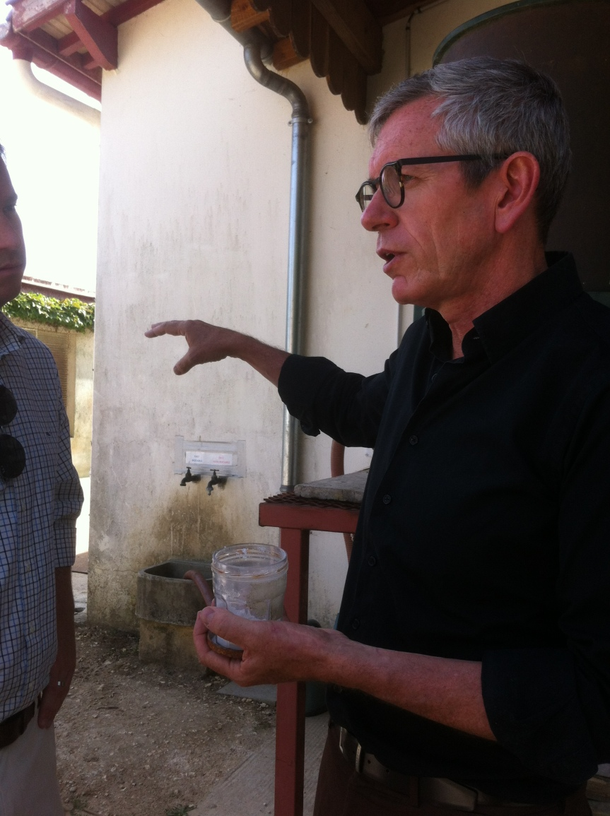 Making sense in St Emilion at biodynamic Fonroque