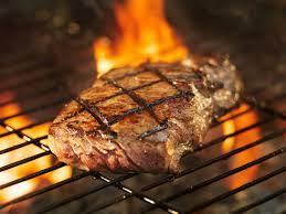 steak fire