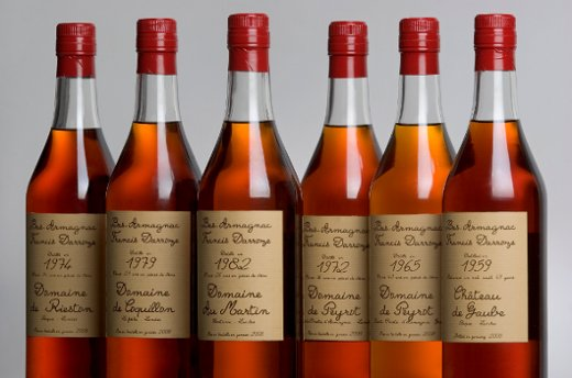 armagnac vintages