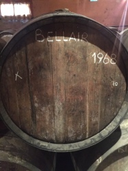once distilled the brandy is aged in 400 litre oak barrels from Gascony or Limousin