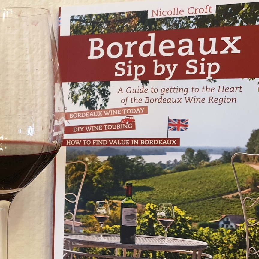 Bordeaux Book Sip by Sip by Nicolle Croft